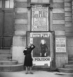 Edith Piaf. Via Tumblr