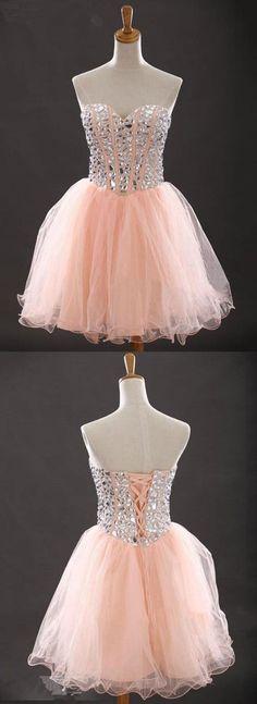 Sweetheart Beading Short Prom Dresses,Cocktail Dress,Charming Homecoming Dresses,Homecoming Dresses,XT278