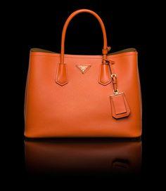 dafbd4e69755 Prada E-Store · Double Bag · Double Bag · Shopping BN2756 2A4A F0S73 Orange  Tote Bags