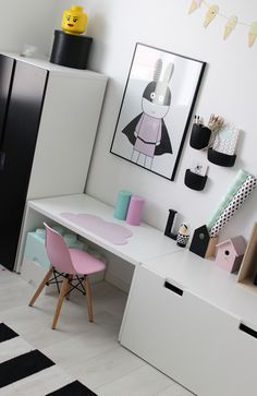 Ikea solution for a desk