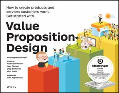 "Osterwalder, Alexander. ""Value proposition design : how to create products and services customers want"". John Wiley & Sons, [2014]. Location: 14.01-OST IESE Library Barcelona"