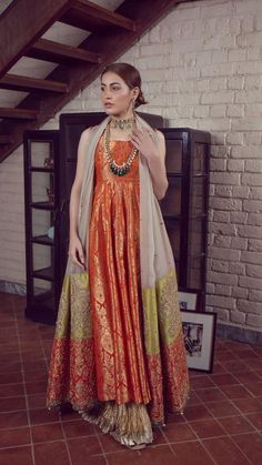 LALEH 11 Spring Festive 2019 by Zonia Anwaar - chambeili Bridal Shadi Dresses, Pakistani Formal Dresses, Nikkah Dress, Pakistani Dress Design, Lehnga Dress, Gown, Pakistani Fashion Party Wear, Pakistani Wedding Outfits, Indian Fashion