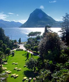 The capital city of Lugano is also the spiritual home of Italians in Switzerland, which adds a sexy slouch to an otherwise buttoned-up country.