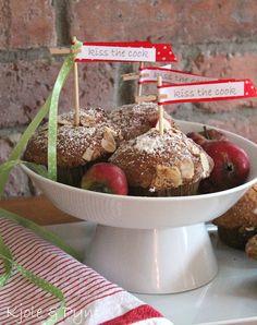 seidenfeins Blog vom schönen Landleben: Schneewittchen Apfelmuffins
