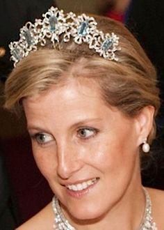 Tiara Mania: Queen Elizabeth II of the United Kingdom's Aquamarine Tiara