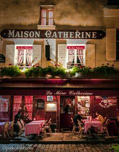 Maison Catherine – Place du Tertre, Paris