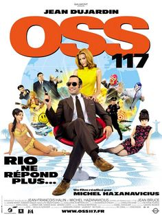 OSS 117: Lost in Rio (OSS 117 : Rio ne répond plus) is a 2009 French comedy film directed by Michel Hazanavicius, starring Jean Dujardin. Also brilliantly executed and super fun parody of the spy film genre.