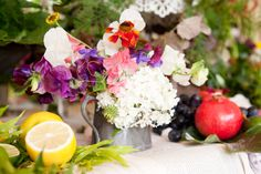 Summer fruits and flowers, The Wilde Bunch