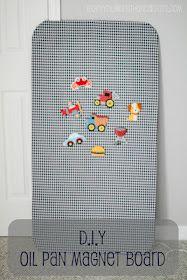 Oil Pan Magnetic Board