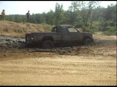 Michael S-10 stuck in the only mud around