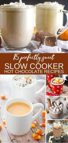 Whip up one of these delicious slow cooker hot chocolate recipes for your next party! These are rich, creamy, silky smooth drinks that everyone will love. via Heather More from my siteSlow Cooker Hot Chocolate for a Crowd – Themed Recipes Slow Cooker Hot Chocolate Recipe, Hot Chocolate Recipes, Delicious Chocolate, Chocolate Videos, Chocolate Quotes, Caramel Recipes, Crockpot Drinks, Crockpot Recipes, Thm Recipes