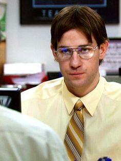 Jim Halpert impersonating Dwight...Bears beets Battlestar Galactica