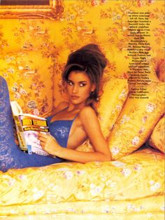 'Time-Out' from………….Vogue January 1991 feat Susan Holmes
