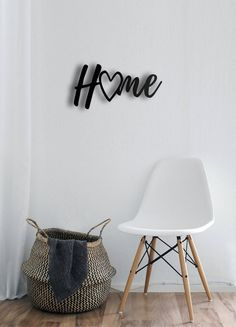 """Home Sign designed by 4MetalArtDesignHome - 4 Metal Wall Art, Metal Wall Decoration, Metal Art, Wall Hangings, Geometric Wall Art, Metal Sign, Wall Sign, Metal Wall DecoEXPRESS and FREE Shipping for USA, CANADA and EUROPE.SIZESS: 48 x 25 cm (19 x 10 inches)M: 68 x 35 cm (27 x 14 inches) L: 98 x 50 cm (39 x 20 inches)DESCRIPTIONThe product stands 1.5 cm(0.6"""") away from the wall.2 mm High Quality Lightweight Steel.Black textured static powder coating.Suitable for indoor & outdoor.Easy hanging… Wooden Wall Art, Metal Wall Decor, Hanging Wall Art, Metal Wall Art, Wall Hangings, Geometric Wall Art, Wall Art Designs, Metal Walls, Printable Wall Art"""