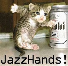 jazzhands.....sometimes they are necessary