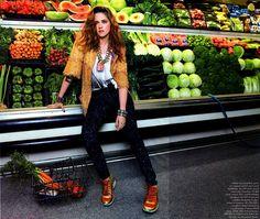 ☆ Kristen Stewart | Photography by Michael Thompson | For Elle Magazine US | September 2014 ☆ #Kristen_Stewart #Michael_Thompson #Elle #2014