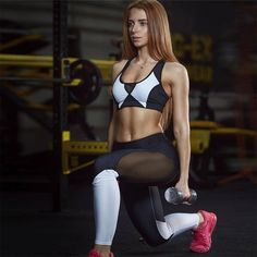 This pair unbelievable and trendy workout leggings is your one stop to bridging the gap between fashion and fitness. The mesh on thighs provides you extra comfort when you sweat it all out. Running Leggings, Sports Leggings, Workout Leggings, Tops For Leggings, Women's Leggings, Leggings Are Not Pants, Herbalife, Fit Girl, Athleisure Outfits