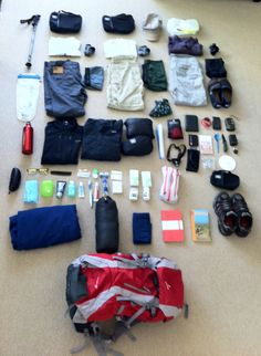 Packing List extraordinaire and Camino blog tracking an April-May pilgrimmage