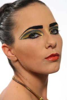 egyptian inspired make-up (mua: Karolien Olaerts) Egyptian, Make Up, Inspired, Rings, Inspiration, Jewelry, Fashion, Biblical Inspiration, Moda