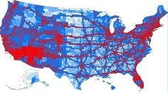 Rejoice, automakers! This map seems to imply that the days of the Great American Roadtrip are not yet over.