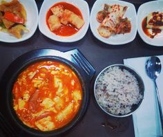"""10 Likes, 2 Comments - by Lily / PSLily Boutique Blog (@pslilyboutique) on Instagram: """"Craving a bowl of seafood tofu soup, right now... ✨🙌😭❤💗💚💛🍲💣🔥💥✨ 