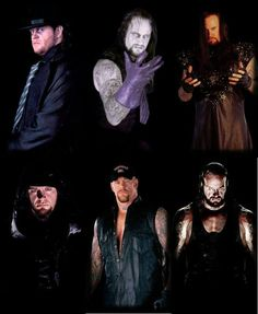 The faces of the Undertaker