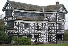 Little Morton Hall, Congleton, Cheshire, UK--built 16th-17th centuries