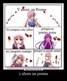 Geeks, Yandere Girl, Yuno Gasai, Anime Crafts, Otaku Meme, Cute Texts, Anime Fairy, Anime Kawaii, Fujoshi