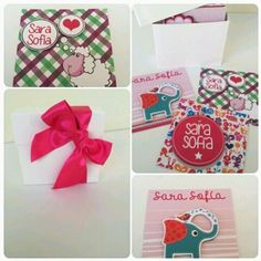 Tarjetas de presentación infantiles personalizadas en relieve / presentation  cards for  our babies