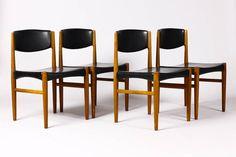 Danish Modern / Mid Century Dining chairs Teak by atomicthreshold