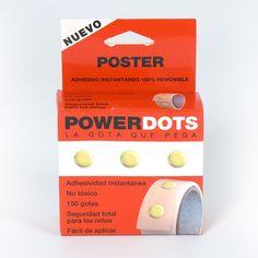 Gotas adhesivas Powerdots - Las gotas adhesivas permanentes o removibles Gluedots® son ideales para adherir artículos a sus catálogos, promocionar productos, pegar paquetes o tarjetas de visita, ...