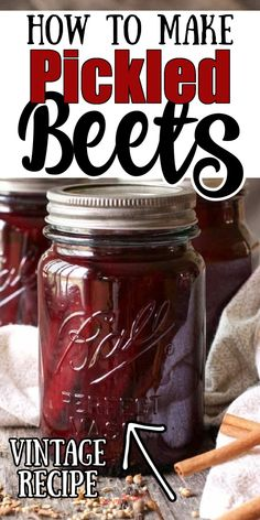 Canned Pickled Beets, Pickled Beets Recipe, Canned Red Beets Recipe, Pressure Canning Recipes, Canning Tips, Canning Vegetables, Fresh Fruits And Vegetables, Beet Recipes, Cooking Recipes