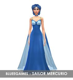 Sailor Moon Crystal | Sailor Mercury | SIM - BlueeGames