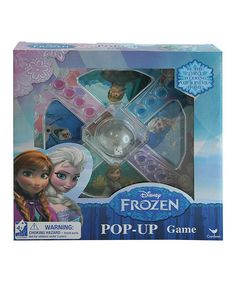 Another great find on #zulily! Frozen Pop-Up Game by Frozen #zulilyfinds
