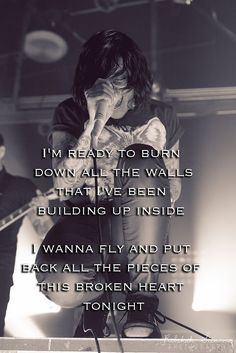 GOSH! Who doesn't love this song! It's freaking amazing! Fly ~ Sleeping With Sirens