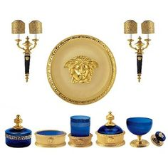 1000 images about versace on pinterest versace home for Versace bathroom accessories