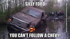 Fords just can't make it through