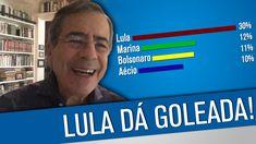 Solto, Lula arrasa nas pesquisas