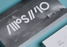 Alps // 40 Identity by Berger & Föhr | Inspiration Grid | Design Inspiration