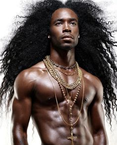 Ladies post the biggest, most bodacious hair pics you can find. From big afro, big curly, long textured and long full straight hair. Men In Black, Gorgeous Black Men, Handsome Black Men, Beautiful Men, Black Muscle Men, Beautiful African Women, Handsome Guys, Gorgeous Hair, Simply Beautiful