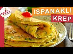 BU KREP BİR BAŞKA❗️Efsane Ispanaklı Krep Tarifi - YouTube