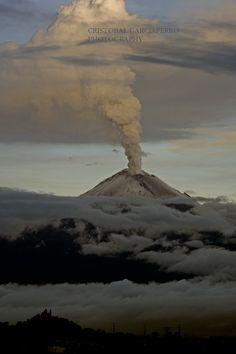 Popocatepetl Volcano - Puebla, Mexico July 7th, 2013