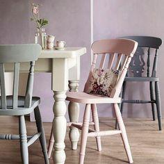 Peindre des chaises en bois