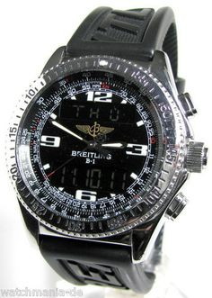 Breitling B1, Black, Diver Pro strap. Legacy model but for me the best in its class.
