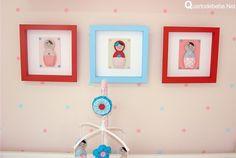 quadros de bonecas matrioska