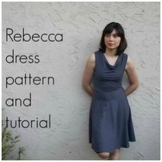 FREE SEWING PATTERN:  Rebecca Dress