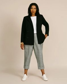Office Outfits Women, Casual Work Outfits, Blazer Outfits, Work Casual, Business Professional Outfits, Business Casual Outfits, Plus Size Professional, Plus Size Work, Look Plus Size