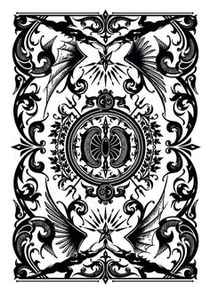 Illustrated Archangel Playing Cards   Abduzeedo Design Inspiration & Tutorials