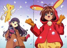 Cheerio! 3, Tomoyo Daidouji, Sakura Kinomoto, Kero