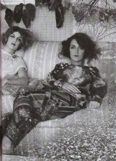 Coco and Bianca Brandolini by Deborah Turbeville